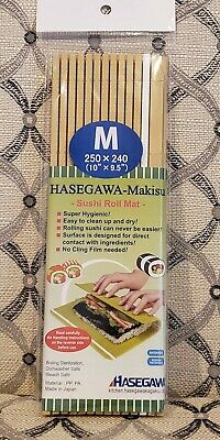 """Set of 4 Japanese 10/"""" x 9.5/"""" Professional Plastic Sushi Roller Mat Made in Japan"""