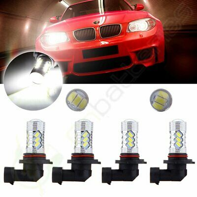 9005+9006 60W Headlight Hi/Low HID 6000K Cree HID LED 15 SMD 6000LM Combo