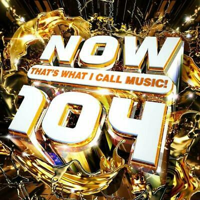 NOW That's What I Call Music! 104 by Various Artists (CD / Album, Nov-2019, 2...