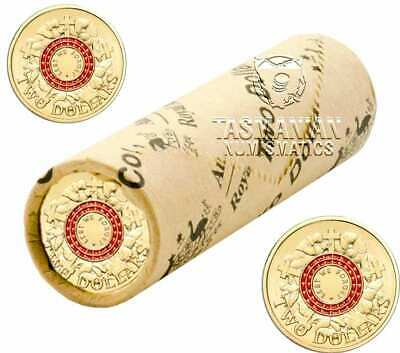 2015 Red ANZAC Lest We Forget $2 Coin Roll