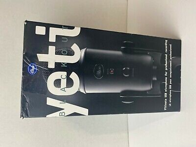 NEW Blue Microphones Yeti Blackout Edition USB Condenser Professional Microphone