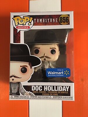 Funko Pop Doc Holliday Tombstone Wal-Mart Exclusive New In Box In Hand