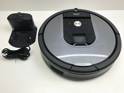 iRobot Roomba 960 Wi-Fi App Connected Robot Vacuum & Charging Dock