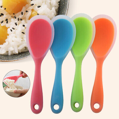 2pcs Environmental Non Stick Rice Spoon Rice Cooker Special Kitchen Tool #Z