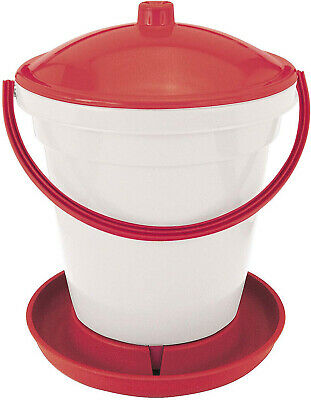Kerbl Poultry Drinking Bucket 18 Litres with Carry Handle