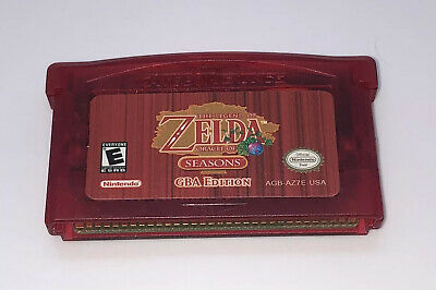 Legend of Zelda: Oracle of Seasons (Game Boy Advance) - TESTED - Cartridge Only