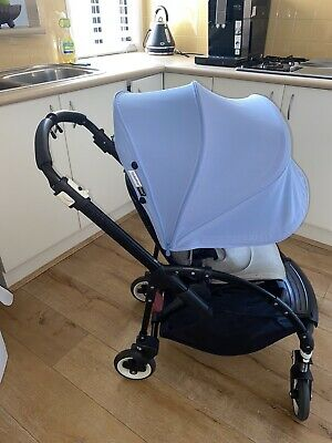 All black bugaboo bee 3 includes new handle covers GUC $40 post