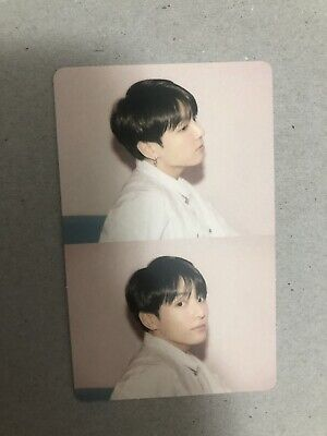 Jungkook Official Photocard BTS Map Of The Soul Persona Version 1 Genuine Kpop
