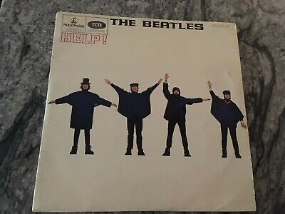 HELP' vinyl album by the Beatles in VG condition - part of a collection.