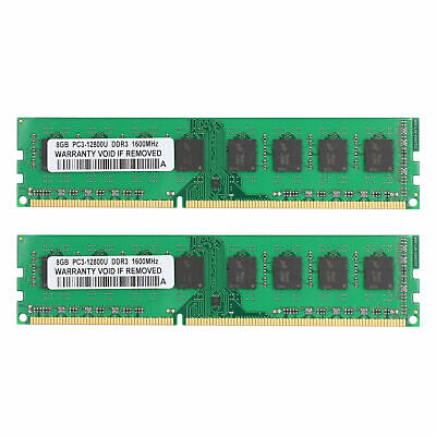 NEW 16GB 2X8GB Memory PC3-12800 DDR3-1600MHz for HP Pavilion 550-016