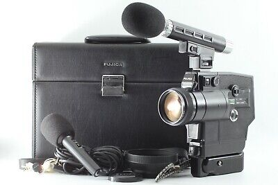 【 OPTICAL MINT 】 Fujifilm Fujica Single 8 Sound ZXM500 Movie Camera from JAPAN