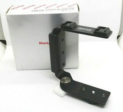 【 UNUSED in BOX 】 Mamiya Strobe Bracket AD401 for 645 Pro TL from JAPAN #974