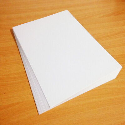 A4 300gsm White Craft Card - Premium Quality Smooth Double Sided Card Stock