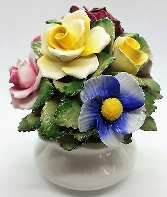 Vintage Healacraft Fine Bone China Floral Arrangement