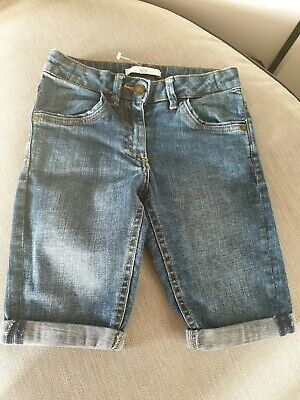 Excellent Condition Marks And Spencer's Girls Denim Shorts Age 67 Years