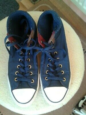 Converse All Stars Hi Top Trainers : Size UK 12/EU 46.5 : Great Condition