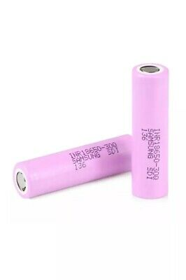 Samsung 18650 Lithium 30Q 3000 mAh 15A Li-on Battery 100%Genuine Pack Of 2 With
