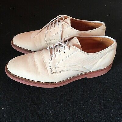 Brooks Brothers White Bucks Rockabilly Swing Vintage Formal Leather Shoes 8.5