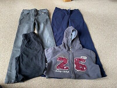 Boys 11-12 Bundle Of Jeans Chinos Hoodie And Shorts