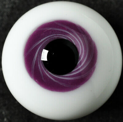 Light Grey Iris with Red Pupil 20MM Glass BJD Eyes for DOD AOD Volks Reborn Doll