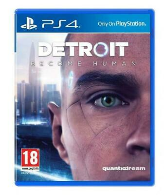 Detroit Become Human Playstation 4 PS4 SEALED Free UK p&p Pal SONY