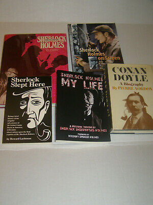 Collection of 5 Books on Sherlock Holmes