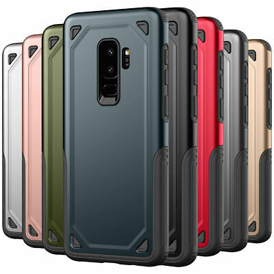 New Case for Samsung Galaxy S9 / Plus - Slim Armor Shockproof Bumper Coverage