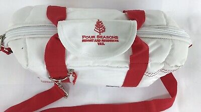 Four Seasons Vail Resort & Residences Colorado Sailor Bags Cooler White Red