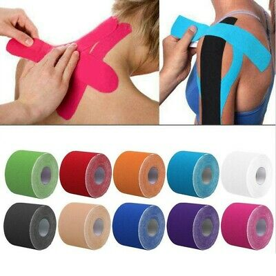 1 Rolle Sport Elastic Kinesiology Tape Muskelschmerzen Care Therapeutic Tape