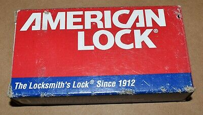 New American Master Lock A748 High Security Hardened Lifetime Warranty