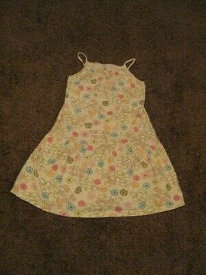 Carter's  Pre Owned   Girls Size 6 X   White FISHY Sun Dress