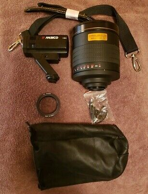 Rokinon Mirror Lens W/Bag- 800mm 1:8.0 DX Plus Camera Bag and Much more LOOK !!!