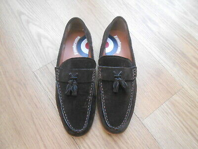 Lambretta   Grigg Brown Suede Casual Shoes  Size Uk 9
