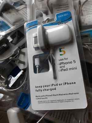 i phone 5 phone and mini pad chargers - joblot of x 4