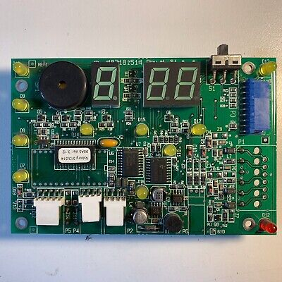 Display Module Circuit Board #487181514 for Wascomat TD3030 dryer [used]