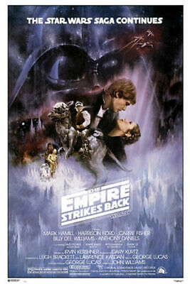 """Star Wars- Empire Strikes Back Classic - Movie Poster 24"""" x 36"""" - NEW"""