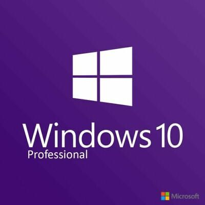 Windows 10 Professional Pro 32-/64-Bit Key License Lizenz Code Aktivierung
