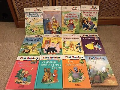 12 FAB MARKS & SPENCER 'FIRST READERS' BOOKS - HARDBACK - Very Good Condition