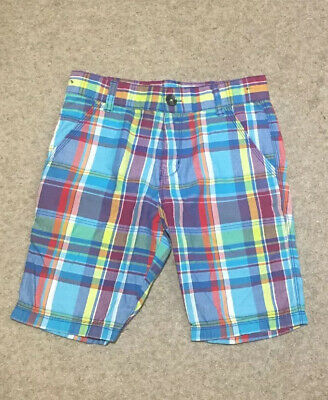 Designer Boys Ted Baker Checked Shorts Age 8 Years