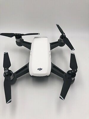 DJI Spark Drone Alpine White Excellent Condition. Low usage. 128 gb SD card