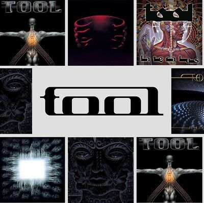 COMPLETE TOOL DISCOGRAPHY Aenima Undertow Salival Fear Inoculum 10000 Days