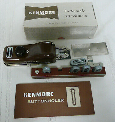 Sears Kenmore Buttonhole Attachment No. 607.66 Sears Roebuck and Co.