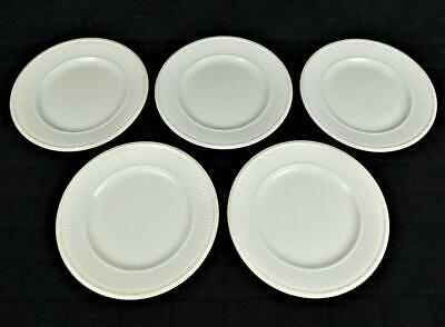 5 Wedgwood Etruria And Barlaston Edme England Green Mark Luncheon Plates 9""