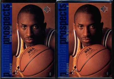 Lot Of (2) Kobe Bryant 1996/97 Sp Premier Prospects #134 Lakers Rookie Rc Wu3445