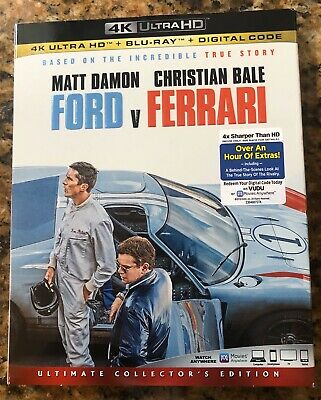 Ford vs Ferrari (4K UltraHD+Blu-ray,2020)