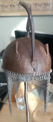 19th Century Kula Khud Spiked Helmet Indo Persian not Sword