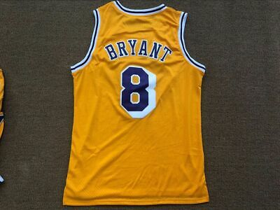 Kobe Bean Bryant #8 Los Angeles Lakers Hardwood Classic Purple/Gold Jersey