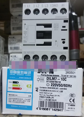1PC New EATON DILM7-10C(220-230V50Hz) DILM710C(220-230V50Hz) #F0