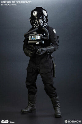IMPERIAL TIE FIGHTER PILOT - STAR WARS IV  Sideshow Collectibles 1:6 Figure NIB