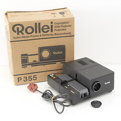 Rollei P355 Slide Projector In Original Box Vgc